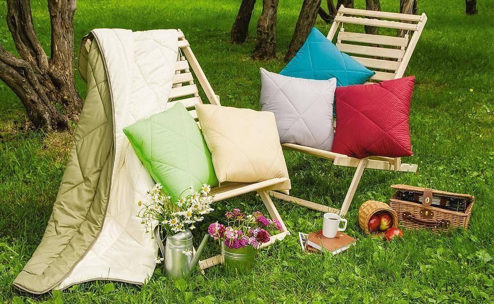 Мебель для отдыха на природе своими руками 21